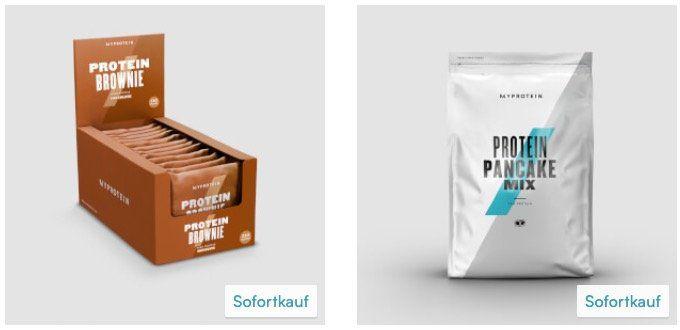 MyProtein: 5kg Casein + 1kg Creatin + 12er Pack Protein Brownies + Zughilfen für 50,06€
