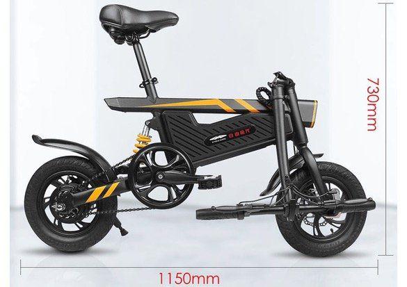Faltbares E Bike Ziyoujiguang T18 mit 250W Motor für 333,95€ inkl. Versand aus PL