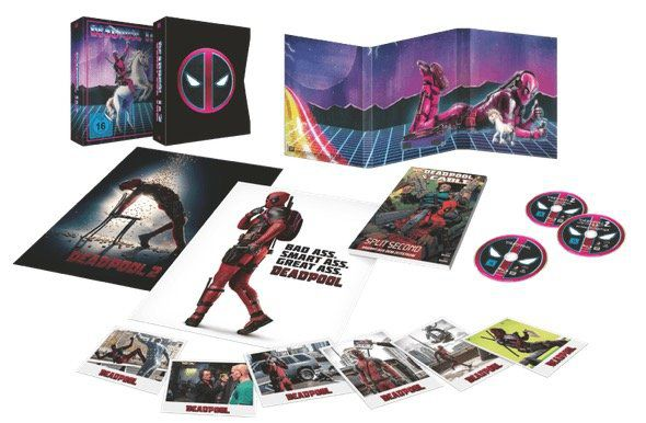 Deadpool 1+2 Ultimate Unicorn [Blu ray] für 29€ (statt 40€)