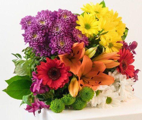 Muttertag: Blumenstrauß Blütentraum mit orangefarbener Lilie für 19,98€