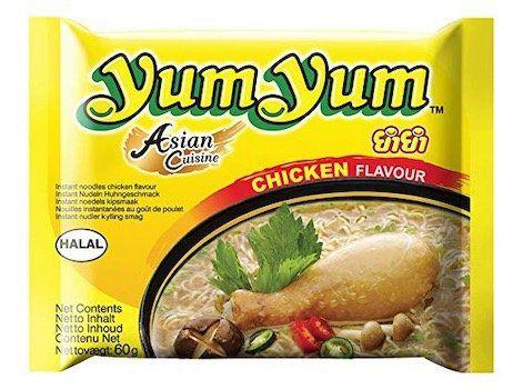 45er Pack Yum Yum Instant Nudeln Huhn 60g ab 10,53€ (statt 22€)