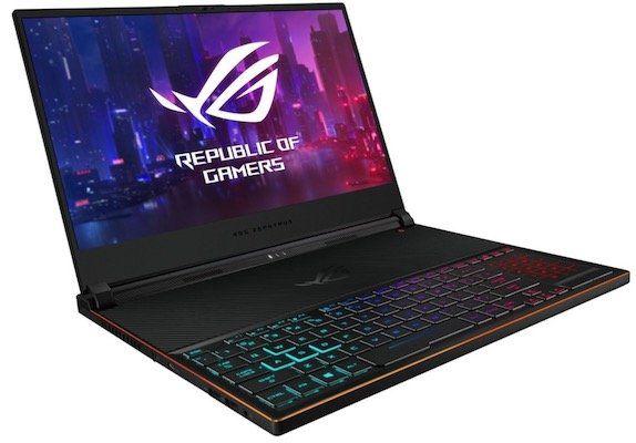 Asus ROG Zephyrus S GX531GX Gaming Notebook mit 144 Hz + NVIDIA RTX 2080 für 2.570,35€ + 428,25€ in Superpunkten