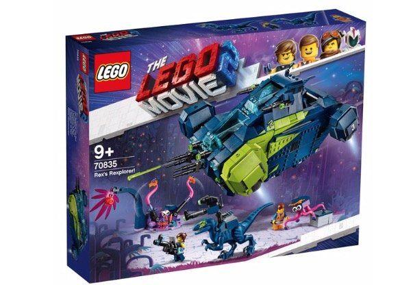 The LEGO Movie 2   70835 Der Rexplorer von Rex! für 79,90€ (statt 120€)