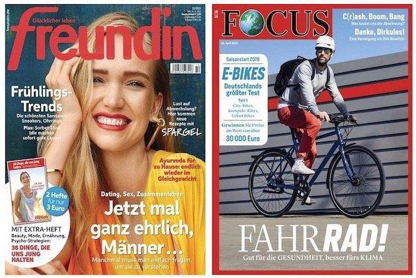 Knaller! 🔥 Bereits reduziertes Zeitschriften Abo kaufen + weiteres Abo GRATIS dazu!
