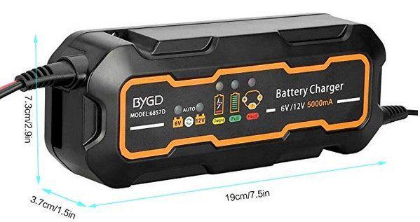 Mbuynow Ladegerät für Autobatterien für 12,49€ (statt 25€)