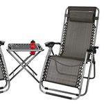 Abbey Camp Terrassen-Set (2 Stühle + Tisch) für 88,90€ (statt 113€)