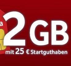 Ein paar gute Handytarife unter 10€ mtl.   z.B. o2 Allnet Flat + 1GB LTE + Samsung Galaxy A7 für 9,99€ mtl.