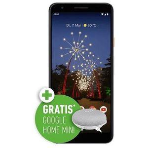 Google Pixel 3a für 49€ + gratis Google Home mini + o2 Allnet Flat mit 5GB LTE für 19,99€ mtl.