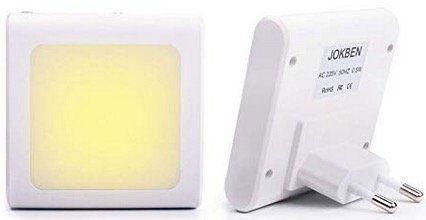 2x LED Nachtlicht für Steckdose mit Dämmerungssensor für 7,79€