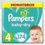 Babymarkt: 33% Rabatt auf Pampers Baby Dry Monatsboxen + kombinierbar mit Babypoints (Treuepunkte)