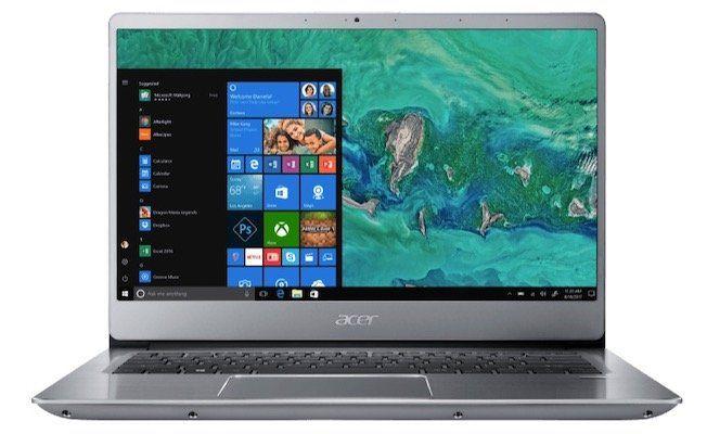 Acer Swift 3 (SF314 54) Notebook mit i7, 12GB Ram, 128GB, 1TB für 799€ + 150€ Cashback