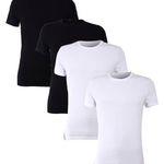 4er Pack Joop Herren T-Shirts O-Neck / V-Neck für 39,90€ (statt 80€)