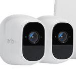 2er Set Arlo VMS4230P Pro2 IP Kamera + Arlo Q VMC3040 Smart Home IP Kamera für 555€ (statt 659€)