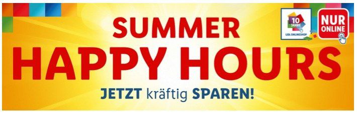 Lidl: bis Mitternacht Summer Happy Hour mit vielen Deals   keine Versandkosten ab 50€ z.B. Kärcher Hochdruckreiniger K3 T150 für nur 119€
