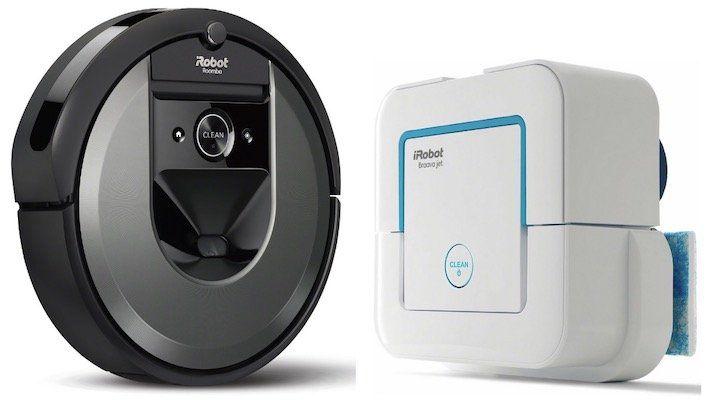 iRobot Roomba i7 Saugerroboter + Braava Jet 240 Wischroboter ab 899€ (statt 1.073€)