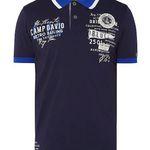 Camp David Poloshirt mit Logo-Applikationen für 31,99€(statt 40€) – nur XL und XXL