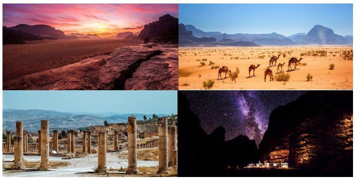 Jordanien Deluxe Rundreise: 8 Tage in 4* und 5* Hotels mit HP, Jeeptour, Wüstencamp inkl. Flüge ab 1.499€ p.P.