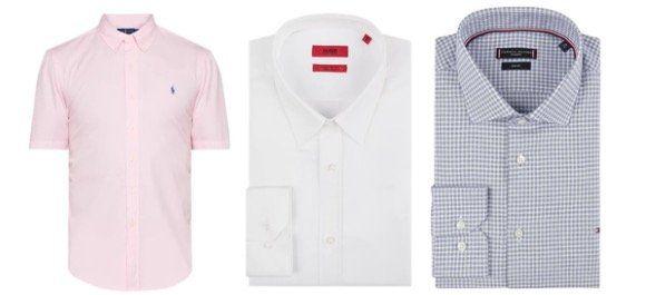 Marken Herren Hemden Sale mit 15% Extra Rabatt z.B. Hilfiger, BOSS, JOOP!, Ralph Lauren uvm...