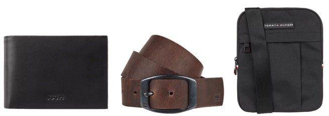Herren Accessoires mit 20% Rabatt z.B. Gürtel, Krawatten, Portemonnaies oder Taschen