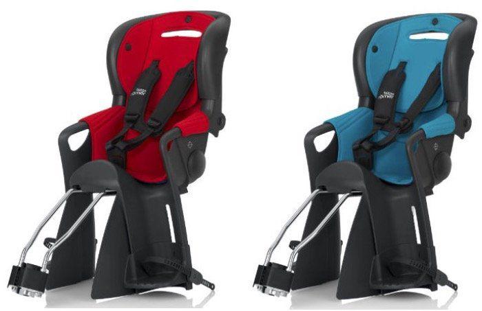 Britax Römer Jockey Comfort Fahrradsitz in Rot oder Türkis für 84,99€ (statt 113€)