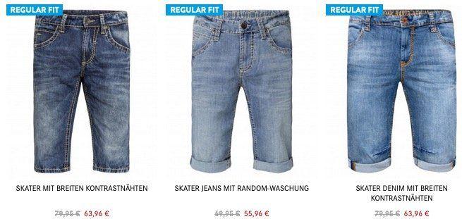 Camp David: 20% Rabatt auf alle Jeans, Shorts & Skater Artikel