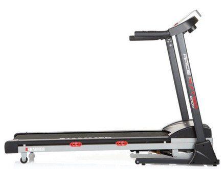 Hammer Sport 4335 Race Runner 2000I Laufband in Silber/Schwarz/Rot für 499€ (statt 629€)
