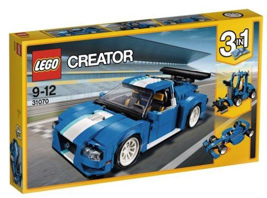 Lego Creator   3 in 1 Turborennwagen (31070) für 34,94€ (statt 44€)