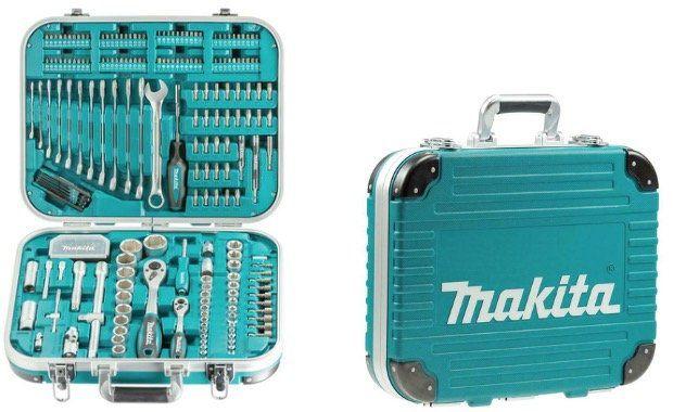 Makita Werkzeug Set 227 teilig P 90532 mit Koffer für 89,95€ (statt 99€)