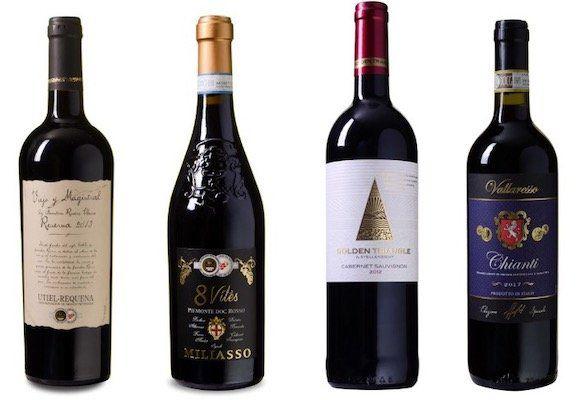 Weinvorteil: 12 Flaschen Wein kaufen, nur 6 Flaschen zahlen + keine Versandkosten ab 65€