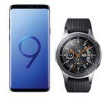 Samsung Galaxy S9+ mit Samsung Galaxy Watch 46mm für 79€ + Vodafone Allnet-Flat mit 4GB LTE für 26,99€ mtl.