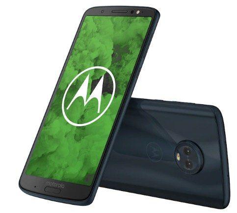 Motorola Moto g6 Plus Smartphone mit 64GB für 109€(statt 144€)