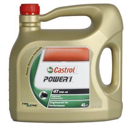 Fehler? 4 Liter Castrol POWER 1 4T SAE 10W 40 Motorradöl für 9,53€ (statt 27€)
