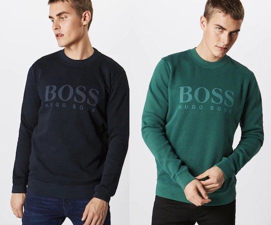 Hugo Boss Herren Sweatshirt Weave für 64,72€(statt 98€)