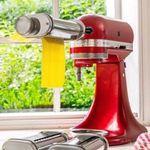 KitchenAid 5KSMPRA – 3-teiliger Nudelvorsatz mit Reinigungsbürste für 92,36€ (statt 113€)