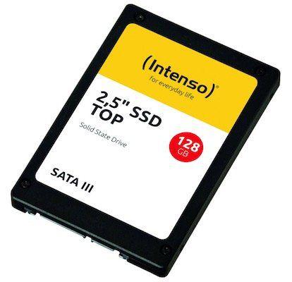 Ausverkauft! Intenso TOP III SSD 128GB für 9,40€ (statt 22€)