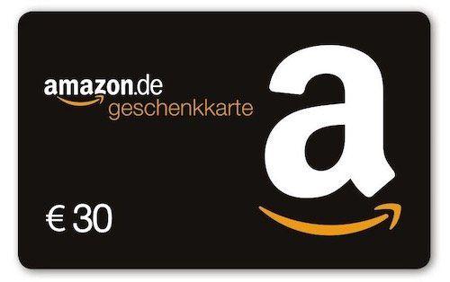Amazon: 5€ Gutschein geschenkt beim Kauf eines 30€ Geschenkgutscheins   nur ausgewählte Kunden