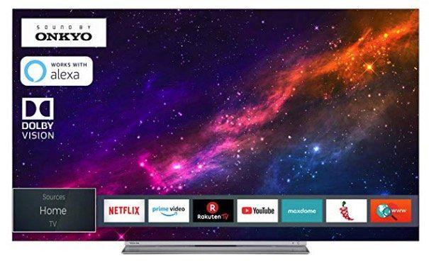Toshiba 55X9863DA   55 Zoll OLED UHD Fernseher mit HDR10 und Dolby Vision für 799€ (statt 1.000€)