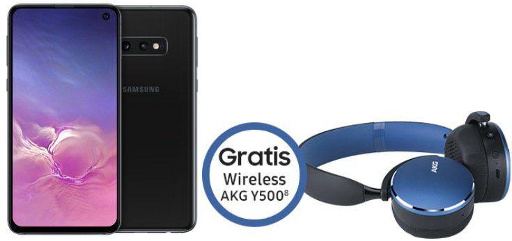 Samsung Galaxy S10e + AKG Y500 für 19€ + o2 Allnet Flat mit 19GB LTE für 29,99€ mtl.   auch mit S10 oder S10+