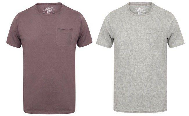 Schnell: Tokyo Laundry Zac Herren T Shirts mit Brusttasche in vielen Farben für je 4,44€ (statt 13€)