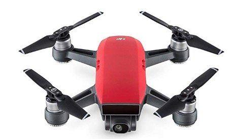 🔥 Schnell: DJI Spark Drohne in Rot als Neuware von Amazon Frankreich für 281,91€ (statt 380€) 🔥