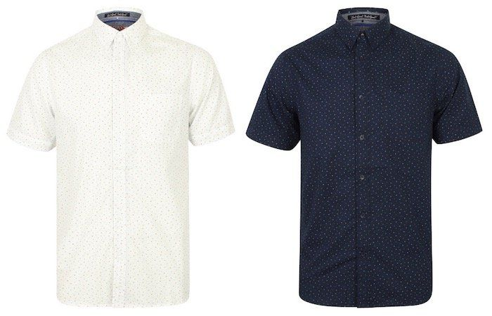 Tokyo Laundry Fallbrook Triangle Print Herren Kurzarm Hemd je 6,66€ + VSK (statt 19€)