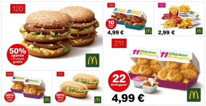 Endlich wieder McDonalds Gutscheine   gültig bis zum 14. Juli 2019