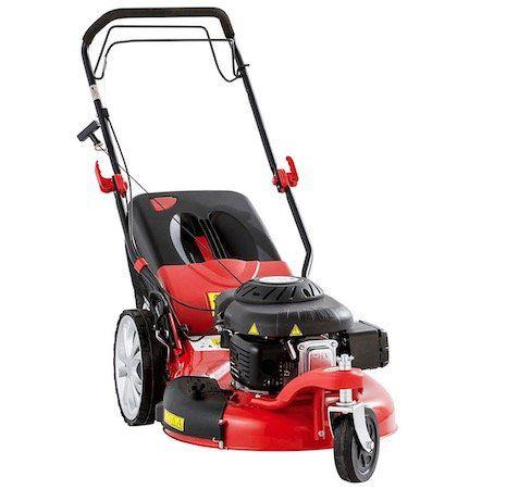 Powertec Garden Big Wheeler 561 Trike Benzin Rasenmäher mit 5,1 PS für 199,30€ (statt 339€)