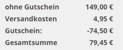 Topfit Trampolin (ca. 244 cm) inkl. Sicherheitsnetz und Regenabdeckung für 79,45€ (statt 140€)