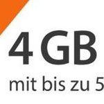 Sim.de o2 Flat mit 4GB LTE für 7,99€mtl. bei 24 Monaten Laufzeit