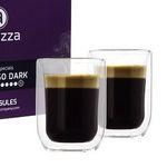 96 Altezza Kaffeekapseln für Nespresso inkl. 2 doppelwandige Kaffeegläser für 19,99€