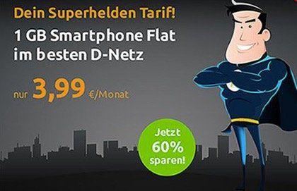 HOT! 🔥 Telekom Tarif mit 100 Freiminuten und 1GB für 3,99€mtl.