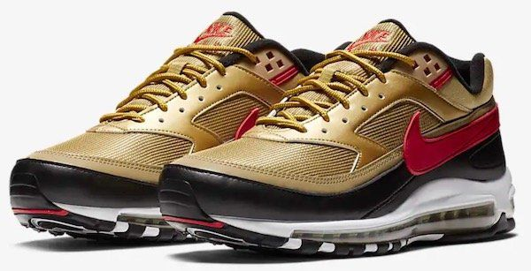 Nike Air Max 97 BW in Gold für 86,38€ (statt 100€)