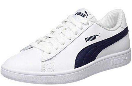 Puma Smash v2 Sneaker in Weiss einige Größen für 16,99€(statt 32€)