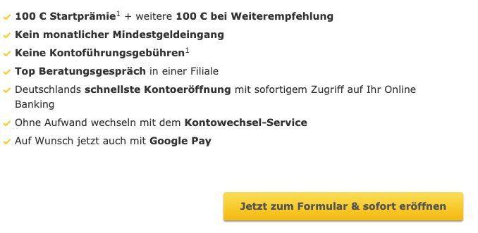 Kostenloses Commerzbank Girokonto + 100€ Startguthaben + bis 100€ bei Freundschaftswerbung